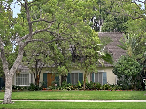 Marilyn Monroe and Joe Dimaggio's Honeymoon Home in Beverly Hills
