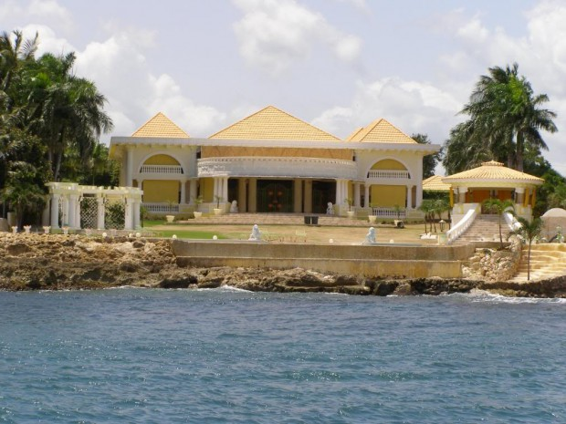 Shakira House Outside View