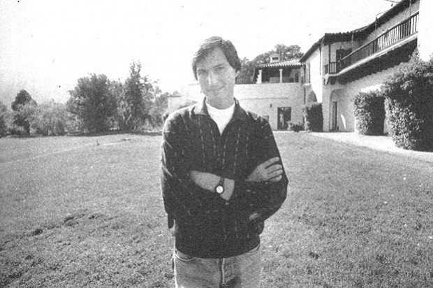 Steve Jobs at His Woodside Mansion