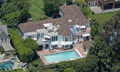 Spielberg Steven Home in Brentwood, California