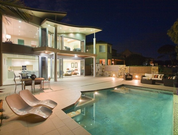 Swimming Pool in Shane Watson's House
