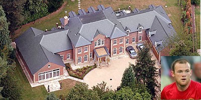 Wayne Mark Rooney Mansion