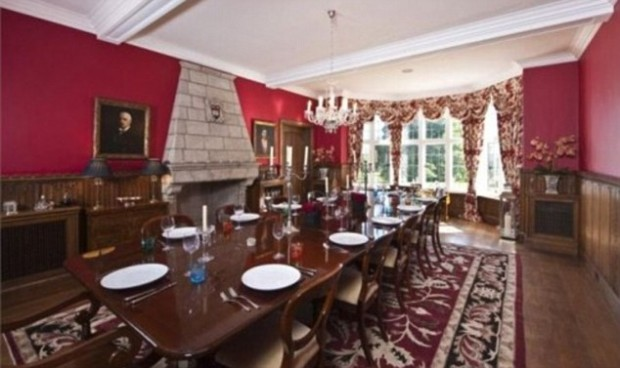 Dining Room in his house
