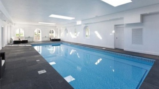 Swimming Pool inside of the house