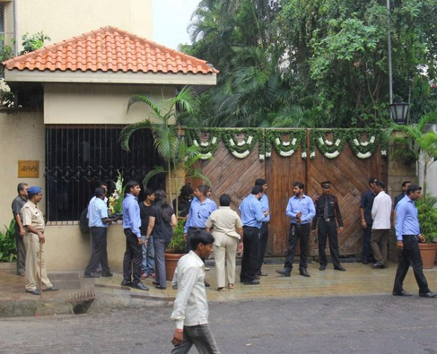 Gateway of Amitabh's House Jalsa