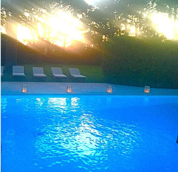 Swimming Pool in Saint Moritz Mansion