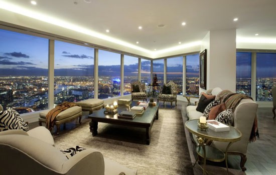 Arnold apartment in Eureka towers in Melbourne