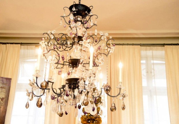 chandelier custom made in chanel's House