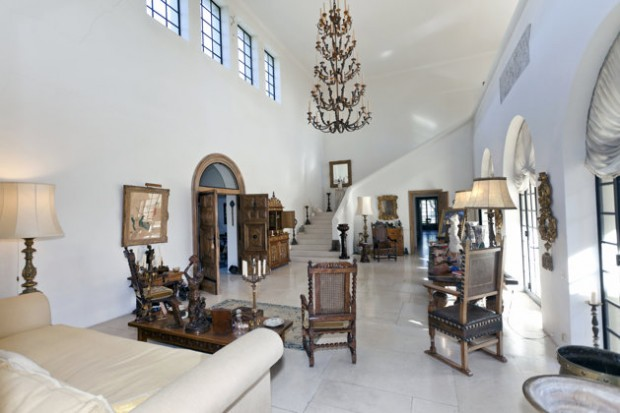Inside of Her French Villa