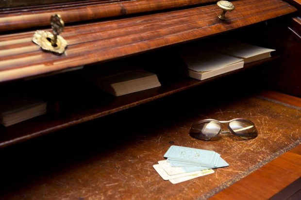 Desk at Her Library