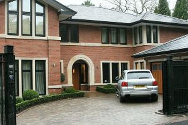 Alderley Edge Mansion of Cristiano Ronaldo