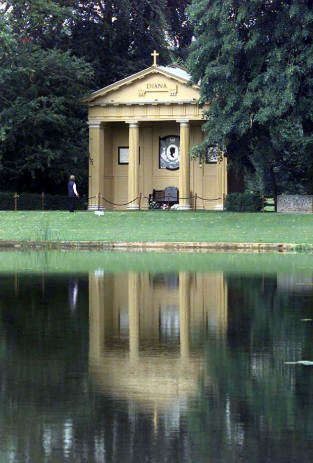 Diana's Memorial in Althorp Estate