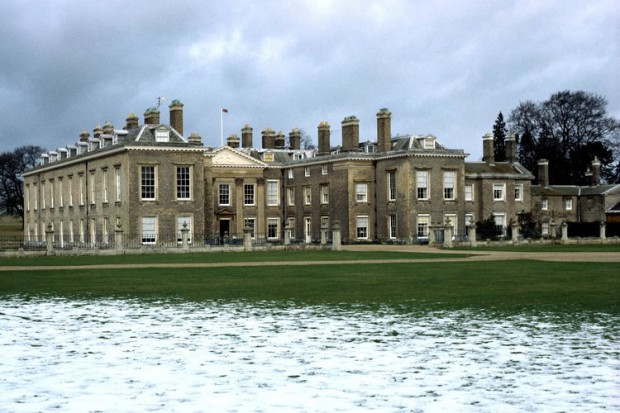 Outside view from Althorp Estate