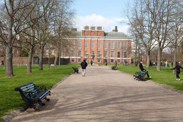 Outside of Kensington Palace