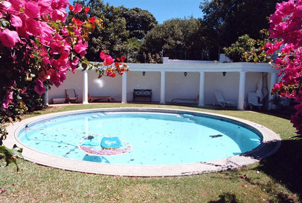A pool in cape town house