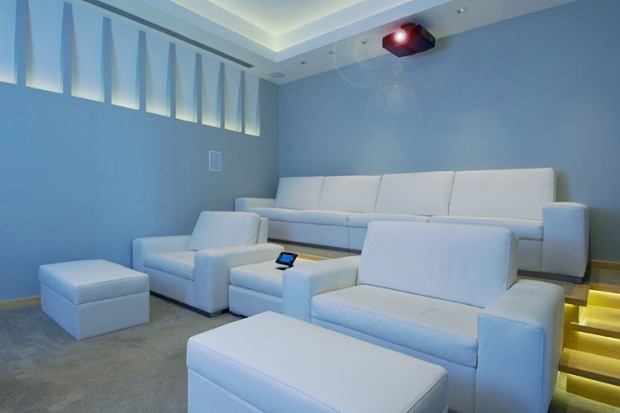 Home Theater in House