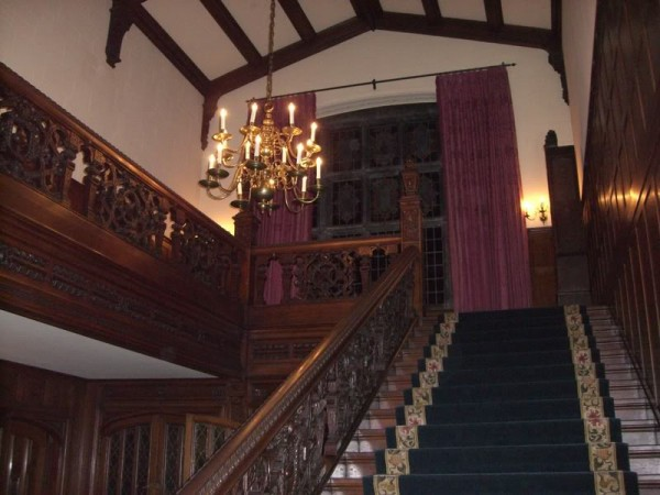 Stair case in Henry Ford estate