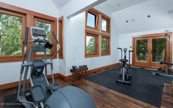 Gym Inside of Christy Walton Home