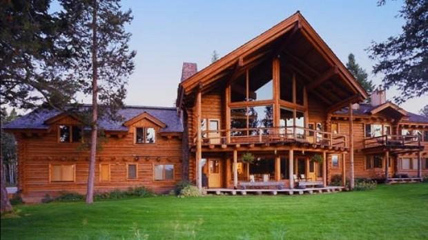 Paul Allen Teton Ridge Estate