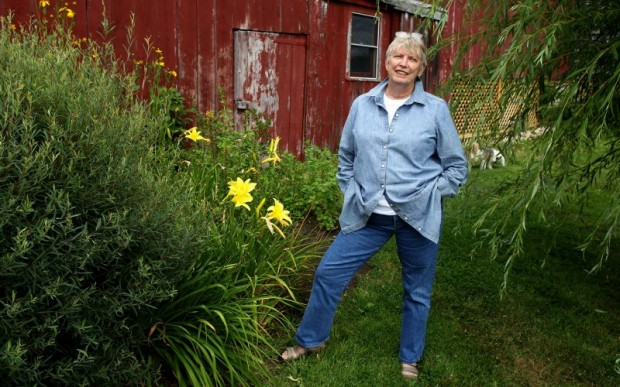 Author Lois Lowry at her Summer Home