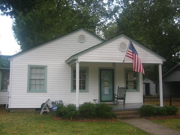 Clinton Boyhood home Arkansas