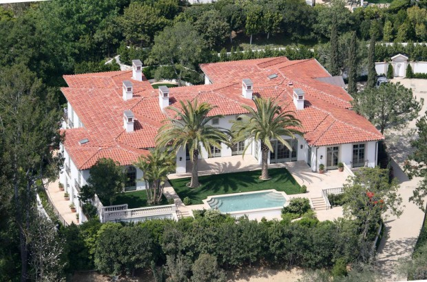 David and Victoria Beckhams Beverly Hills mansion