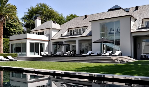 Simon Cowell House at Beverly Hills
