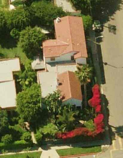 Seth Rogen's House at West Hollywood in California