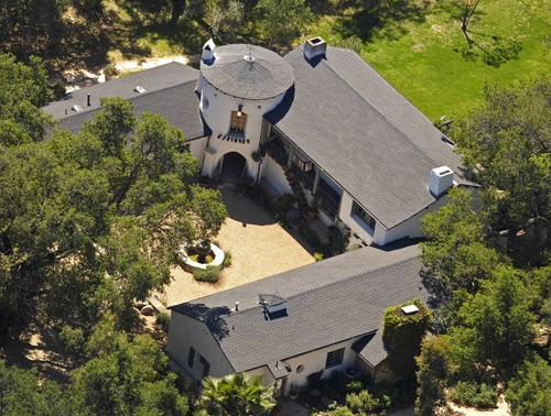 Reese Witherspoon's House at Ojai, California
