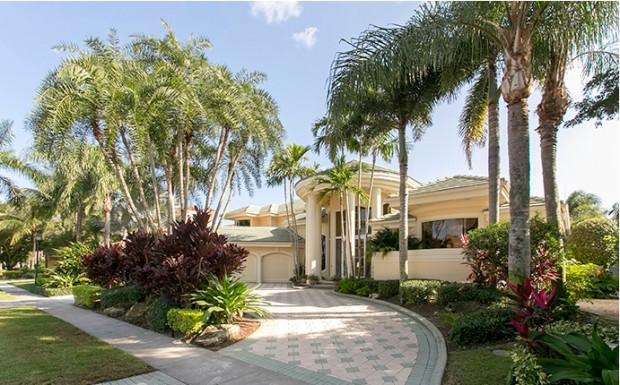Ben Carson's West Palm Beach House