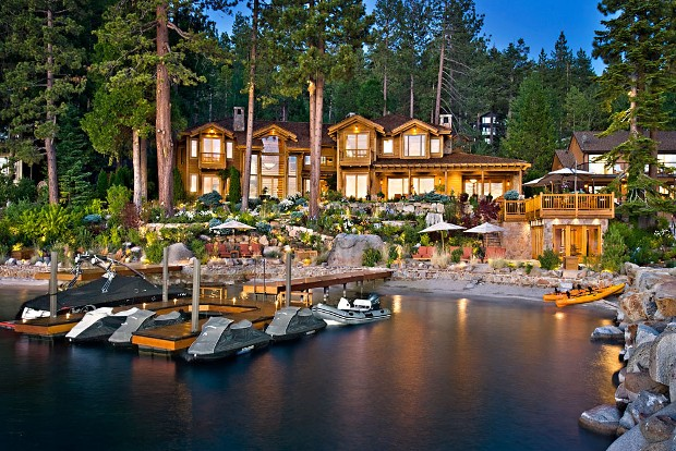 Larry Ellison's Tahoe Home