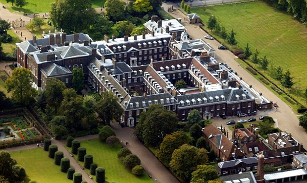 Prince Harry Kensington Palace Top View