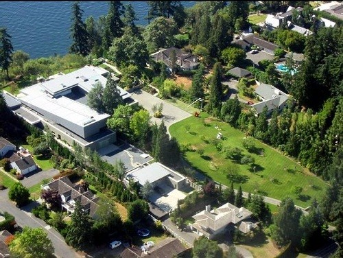 Bill Gates Large Mansion