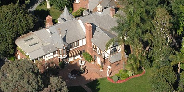 Michael Jackson home in Encino