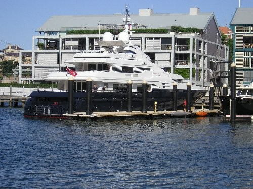 Russell Crowe's House and Boat
