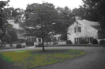 Paul Simon's House in  New Canaan