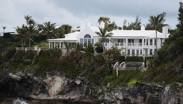 Aubrey McClendon's Bermuda Home