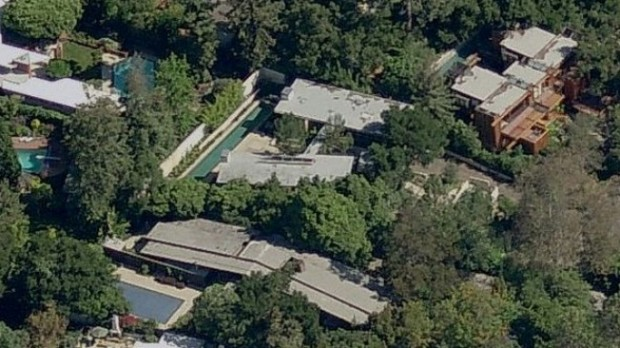 Pacific Palisades Mansion of Bradley Cooper
