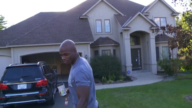 Adrian Peterson's Minnesota House