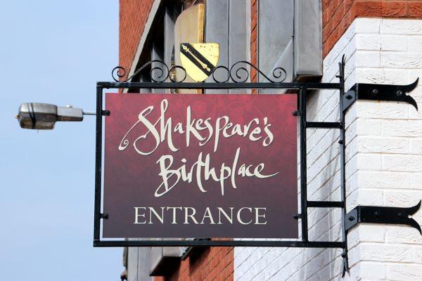William Shakespeare Birthplace
