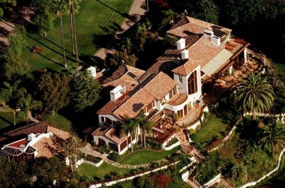 Steven Spielberg Mansion in California