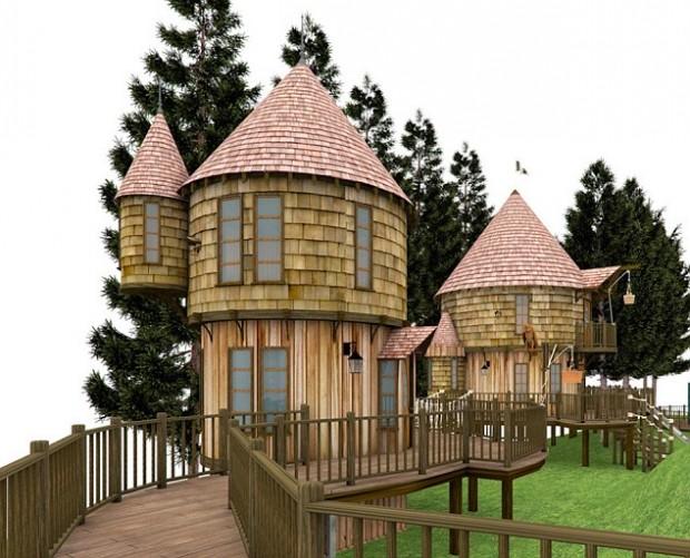 J K Rowling Tree House