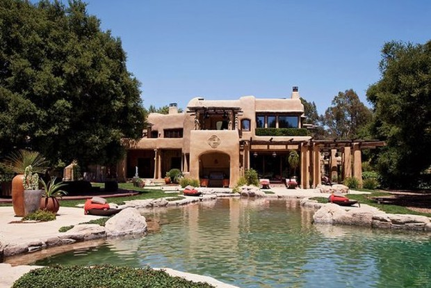 Inside of Jaden Smith Mansion