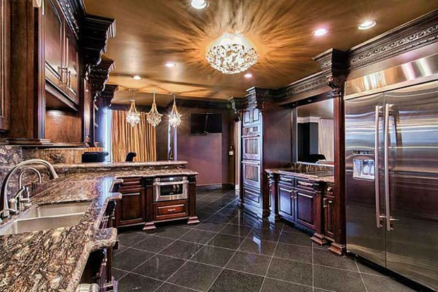 Inside Of Adrian Peterson House