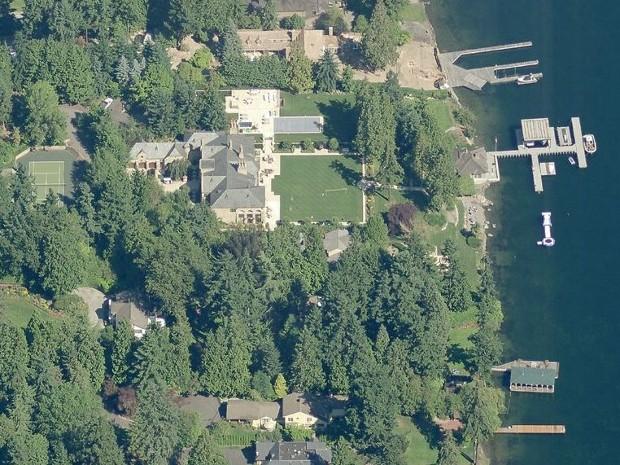Steve Ballmer Home in Hunts Point, Washington