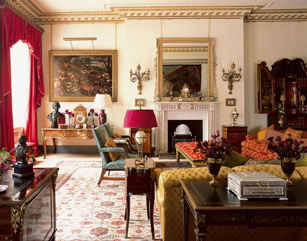 Inside of Clarence House