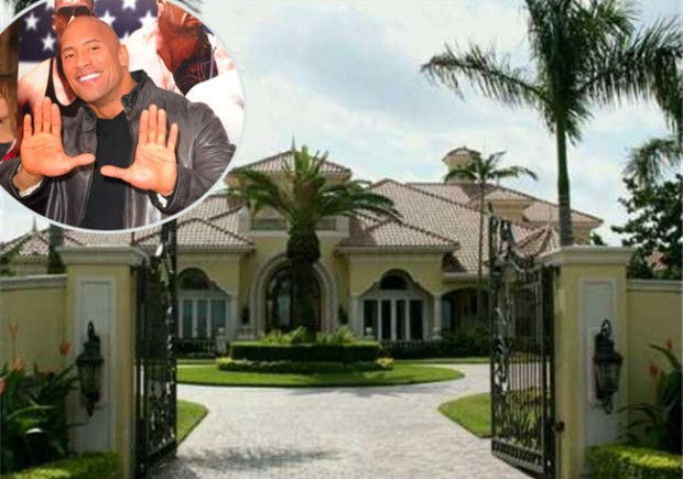 The Rock's Mansion in Florida