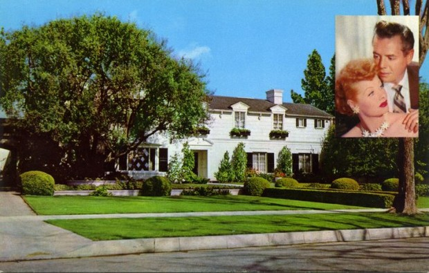 Home of Desi Arnaz and Lucille Ball at California