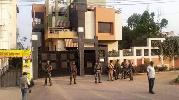 Dhoni's Residence With Security