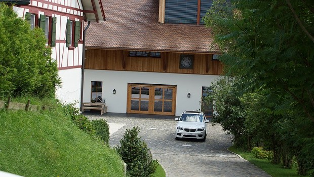 Sebastian Vettel Home in Switzerland
